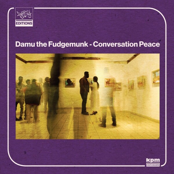 DAMU THE FUDGEMUNK, conversation peace cover