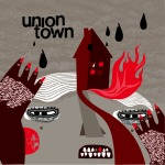 Cover UNION TOWN, blinding lights