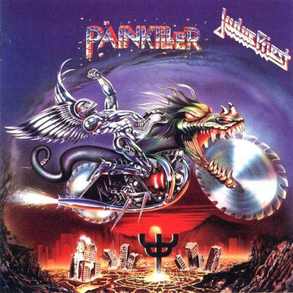 Cover JUDAS PRIEST, painkiller