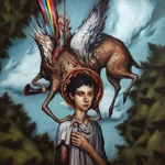 Cover CIRCA SURVIVE, blue sky noise