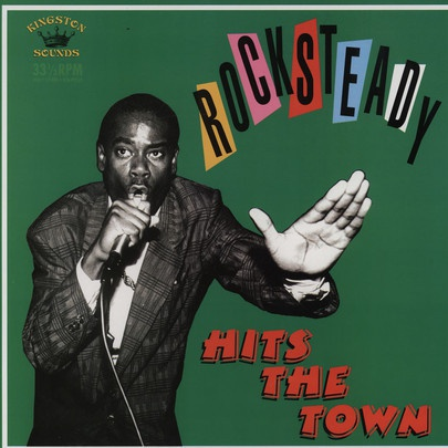 V/A, rocksteady hits the town cover