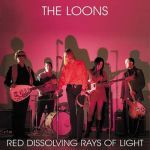 Cover LOONS, red dissolving rays of light