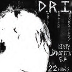 D.R.I., dirty rotten EP cover