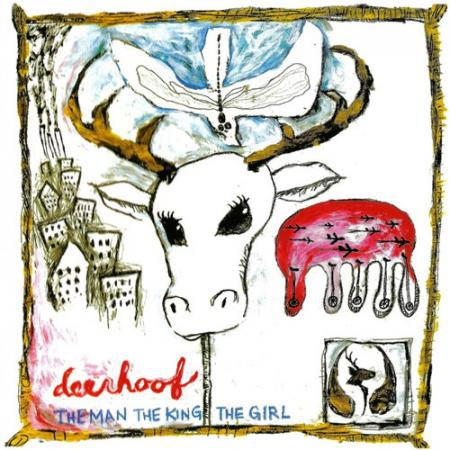 DEERHOOF, the man, the king, the girl cover