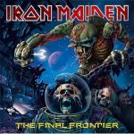IRON MAIDEN, final frontier cover