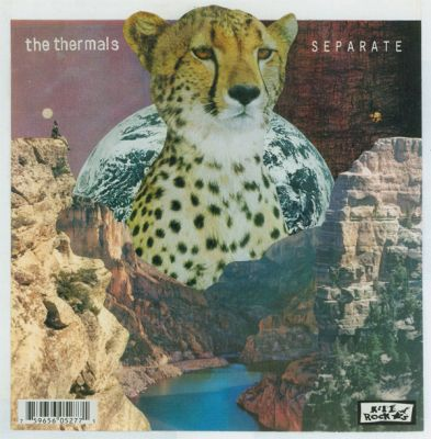 THERMALS/CRIBS, split cover