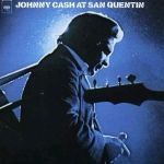Cover JOHNNY CASH, at san quentin