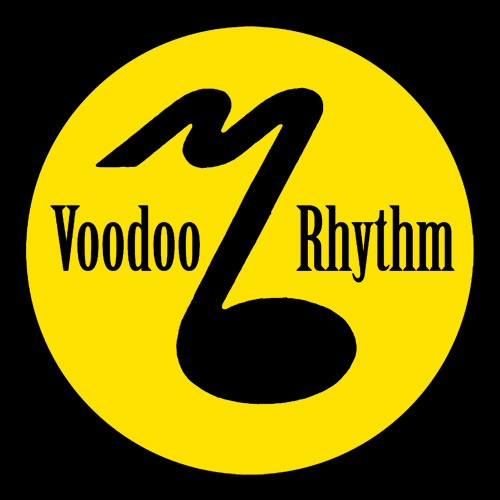 Cover REVEREND BEAT-MAN, voodoo rhythm note (girl), black