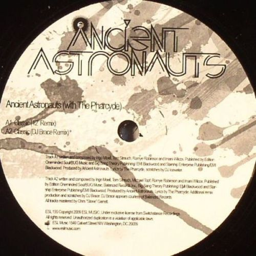 Cover ANCIENT ASTRONAUTS, classic feat. pharcyde