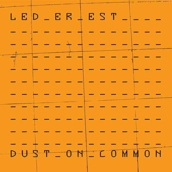 Cover LED ER EST, dust on common