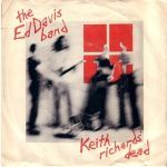 Cover ED DAVIS BAND, keith richard´s dead