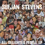 SUFJAN STEVENS, all delighted people-ep cover