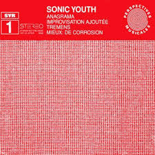 Cover SONIC YOUTH, anagrama