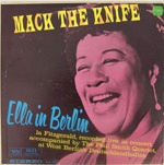 Cover ELLA FITZGERALD, ella in berlin