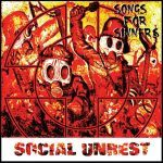 Cover SOCIAL UNREST, songs for sinners
