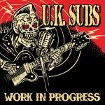 UK SUBS, work in progress cover