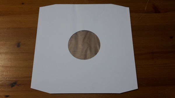 Cover LP Innenhülle Deluxe_weiss, 10er pack