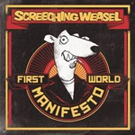 Cover SCREECHING WEASEL, first world manifesto