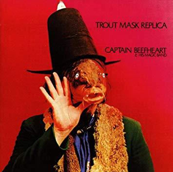 Cover CAPTAIN BEEFHEART, trout mask replica
