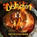 Cover DESTRUCTION, day of reckoning