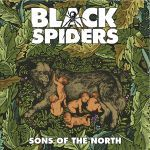 BLACK SPIDERS, sons of the north cover