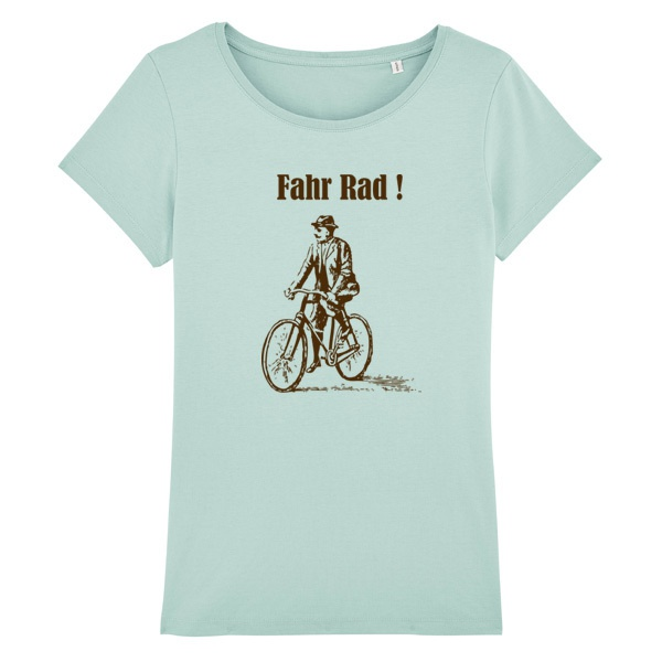 Cover ORANGE BEAT, fahr rad! (girl), turquoise
