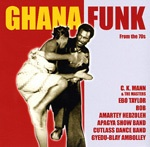 V/A, ghana funk from the 70s cover