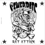 Cover SEWER RATS, rat attack