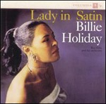 BILLIE HOLIDAY, lady in satin cover