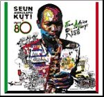 SEUN KUTI & EGYPT 80, from africa with fury: rise cover
