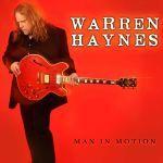 WARREN HAYNES, man in motion cover