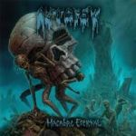 Cover AUTOPSY, macabre eternal