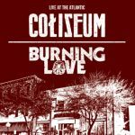 Cover BURNING LOVE / COLISEUM, live at the atlantic vol. 4
