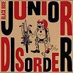 Cover JUNIOR DISORDER, black rose