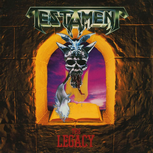 TESTAMENT, the legacy cover