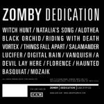 Cover ZOMBY, dedication