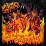 NEKROMANTIX, what happens in hell, stays in hell cover
