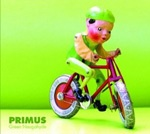 PRIMUS, green naugahyde cover