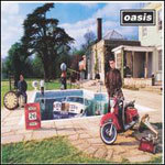 OASIS, be here now cover