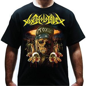 Cover TOXIC HOLOCAUST, red winter_black