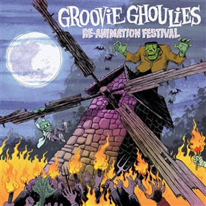GROOVIE GHOULIES, re-animation cover