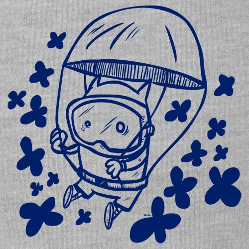 Cover RAUTIE, parachute (boy), heather grey