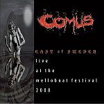 COMUS, east of sweden - live 2008 cover