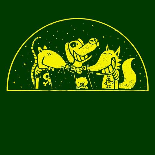 WILLEM KOLVOORT, friends forever (girl), forest green cover