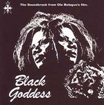 Cover O.S.T., black goddess
