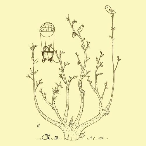 ZUM HEIMATHAFEN, autumn (girl), pastel vanilla cover