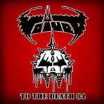 Cover VOIVOD, to the death 84