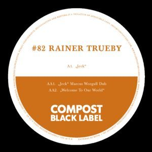 Cover RAINER TRÜBY, compost black label 82
