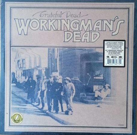 GRATEFUL DEAD, workingman´s dead cover