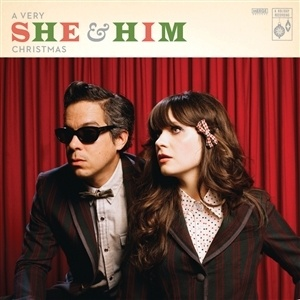 Cover SHE & HIM, a very she & him christmas